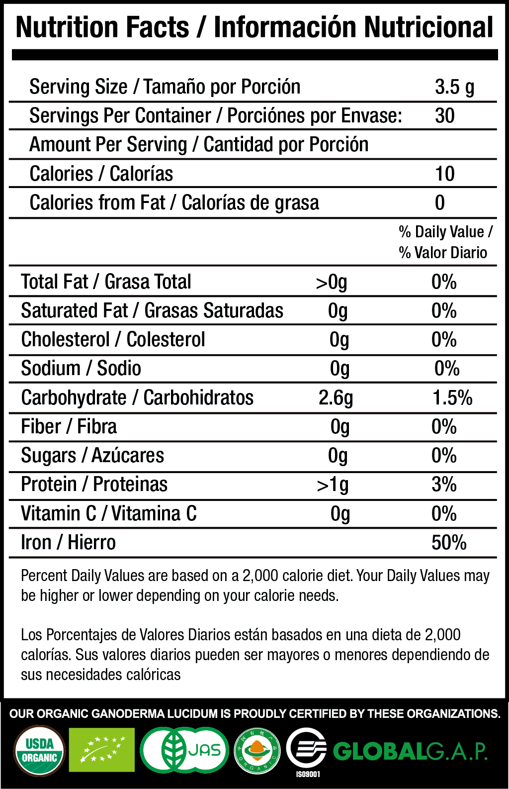 Sculpt nutrition facts
